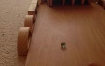 wir haben eine Murmelbahn gebaut