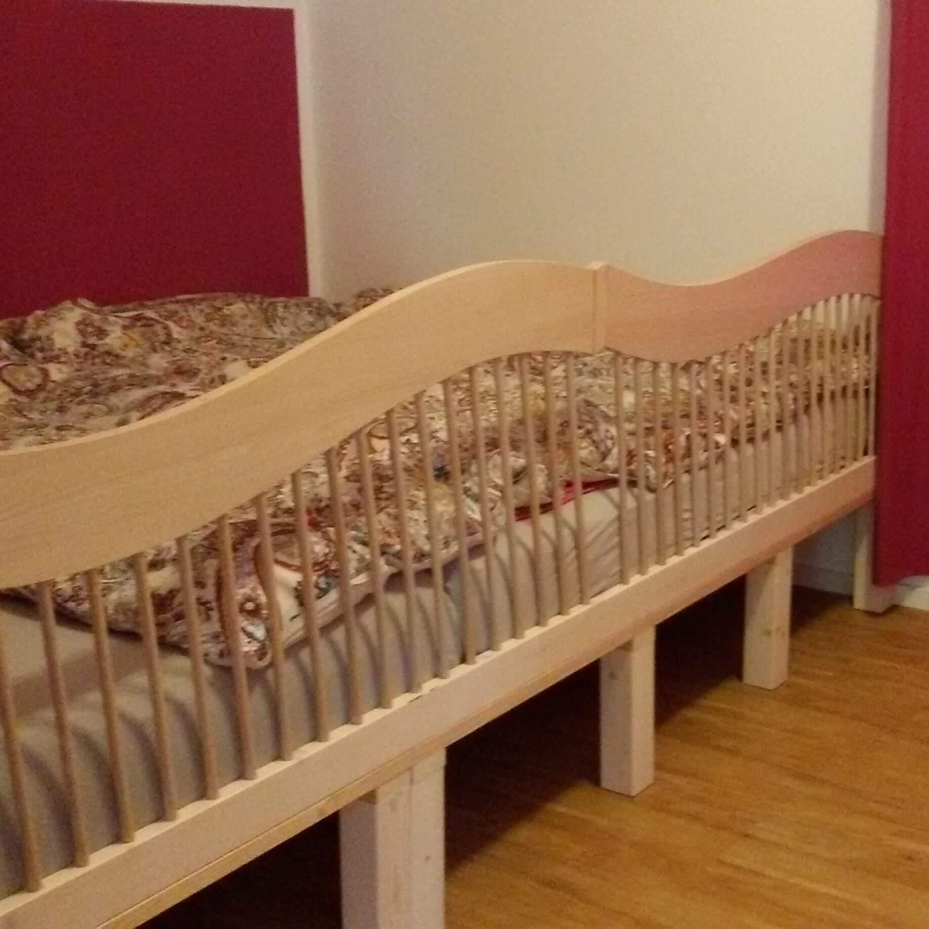 Ein Blick in Familienbetten - Die geborgen wachsen ...