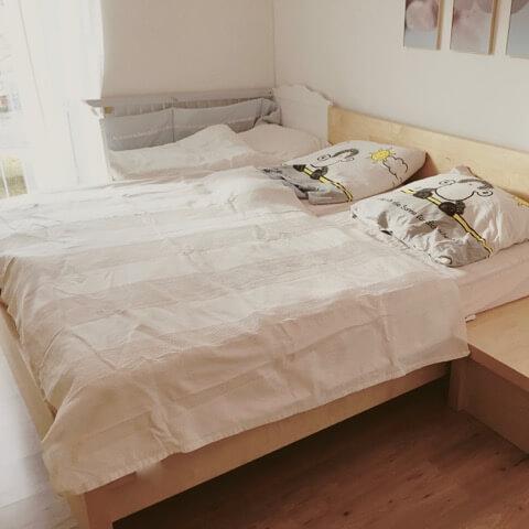 Auch Eine Gemütliche Variante Mit Angestelltem Kinderbett Gibt Es Hier Von  Www.naturkindleben.de.So Haben Sie Mit Dem Familienbett Angefangenu2026