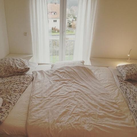 Matratzenlager familienbett  Ein Blick in Familienbetten - Die geborgen wachsen ...