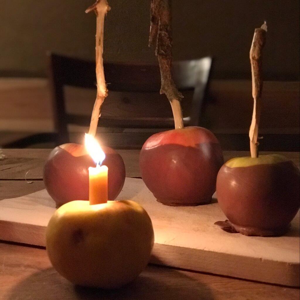 Schokoladenäpfel