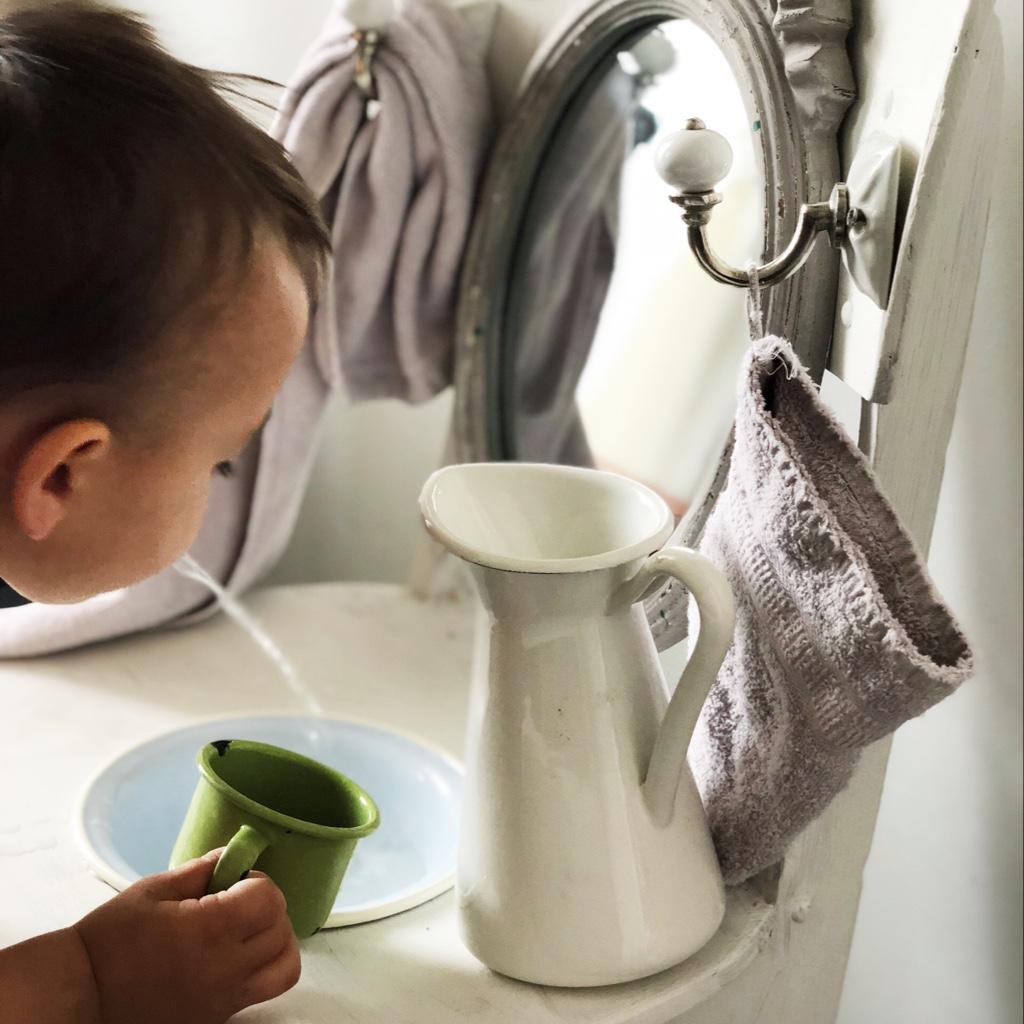 Einen Kinderwaschtisch bauen mit Twercs {Werbung} - Geborgen Wachsen